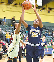 Quinnipiac defeats Siena 76-60 on Senior Night in a MAAC conference game on February 12, 2017 at the Alumni Recreation Center in Loudonville, New York.  (Bob Mayberger/Eclipse Sportswire)