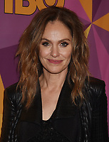 BEVERLY HILLS, CA - JANUARY 07: Actress Amy Brenneman arrives at HBO's Official Golden Globe Awards After Party at Circa 55 Restaurant in the Beverly Hilton Hotel on January 7, 2018 in Los Angeles, California.
