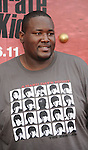"WESTWOOD, CA. - June 07: Quinton Aaron arrives at ""The Karate Kid"" Los Angeles Premiere at Mann Village Theatre on June 7, 2010 in Westwood, California."