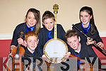 The Ballydonoghue team that played in Scor na nO?g in the Gleneagle Hotel Killarney on Sunday night l-r: Aisling McCarthy, Kevin O'Neill, Jason Foley, Padraig Enright and Myra O'Connell   Copyright Kerry's Eye 2008