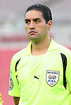 15 March 2008: Fourth official Roberto Garcia (MEX). The United States U-23 Men's National Team defeated the Honduras U-23 Men's National Team 1-0 at Raymond James Stadium in Tampa, FL in a Group A game during the 2008 CONCACAF's Men's Olympic Qualifying Tournament.