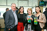 Enjoying the 10th anniversary Feale Rangers, hospitality event in the Huge Friel Stand on Ladies Day at Listowel Summer Race meeting on Sunday were John Carmody, Caroline Fouhy, Mary Carmody, Joan Lane, Listowel