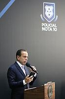 São Paulo (SP), 09/04/2019 - Política / São Paulo / Dória - João Doria, Governador de São Paulo, homenageia aos integrantes das polícias Civil, Militar e Técnico-Científica que atuaram no atentado aos alunos da escola Raul Brasil, em Suzano, e a tentativa de roubo a dois bancos de Guararema, através do programa Policial Nota 10, nesta terça-feira, 9.(Foto: Charles Sholl/Brazil Photo Press/Agencia O Globo) Politica