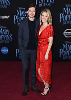 29 November 2018 - Hollywood, California - Topher Grace, Ashley Hinshaw. &quot;Mary Poppins Returns&quot; Los Angeles Premiere held at The Dolby Theatre.   <br /> CAP/ADM/BT<br /> &copy;BT/ADM/Capital Pictures