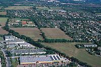 Deutschland, Schleswig- Holstein, Oststeinbek, Breedenweg, Willinghusener Weg, Barsbuettler Weg, Neubaugebiet, Gewerbegebiet