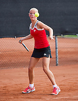 08-08-13, Netherlands, Rotterdam,  TV Victoria, Tennis, NJK 2013, National Junior Tennis Championships 2013, Suzan Lamens   <br /> <br /> <br /> Photo: Henk Koster