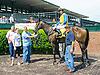 Seventyseven Ilene winning at Delaware Park on 5/20/15