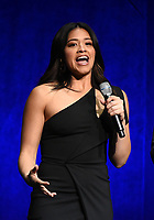 LAS VEGAS, NV - APRIL 23: Actor Gina Rodriguez onstage at the Sony Pictures Entertainment presentation at CinemaCon 2018 at The Colosseum at Caesars Palace on April 23, 2018 in Las Vegas, Nevada. (Photo by Frank Micelotta/PictureGroup)