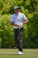 Jason Dufner (USA) watches his tee shot on 2 during Round 4 of the Zurich Classic of New Orl, TPC Louisiana, Avondale, Louisiana, USA. 4/29/2018.<br /> Picture: Golffile | Ken Murray<br /> <br /> <br /> All photo usage must carry mandatory copyright credit (&copy; Golffile | Ken Murray)