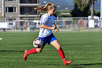National Age Group Tournament - U16 Girls Mainland v Auckland at Petone Memorial Park, Lower Hutt, New Zealand on Wednesday 12 December 2018. <br />
