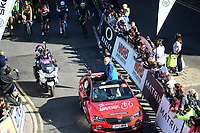 Picture by Simon Wilkinson/SWpix.com - 09/09/2017 - Cycling - OVO Energy Tour of Britain - Stage 7 Hemel Hempstead to Cheltenham - roll out SKODA Guy ELLIOTT