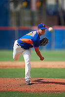 GCL Mets pitcher Jordan Humphreys (67) delivers a pitch during the first game of a doubleheader against the GCL Marlins on July 24, 2015 at the St. Lucie Sports Complex in St. Lucie, Florida.  GCL Marlins defeated the GCL Mets 5-4.  (Mike Janes/Four Seam Images)