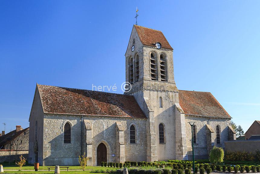 France, Loiret (45), Givraines, l'église // France, Loiret, Givraines, the church