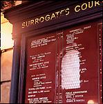 Surrogate Court building detail