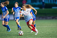 Boston, MA - Friday July 07, 2017: Sofia Huerta during a regular season National Women's Soccer League (NWSL) match between the Boston Breakers and the Chicago Red Stars at Jordan Field.