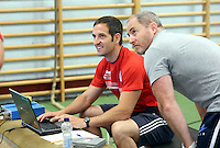 Pictured: Spirts analysts. Thursday 03 July 2014<br />