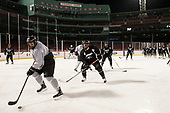 Scott Conway (PC - 10), Bryan Lemos (PC - 24) - The Providence College Friars practiced at Fenway on Friday, January 6, 2017, in Boston, Massachusetts.