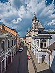 Wilno, 08.07.2014. Ulica Ostrobramska.