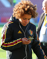 20191008 CLUJ NAPOCA: Belgium's Kassandra Missipo is pictured before the match between Belgium Women's National Team and Romania Women's National Team as part of EURO 2021 Qualifiers on 8th of October 2019 at CFR Stadium, Cluj Napoca, Romania. PHOTO SPORTPIX | SEVIL OKTEM