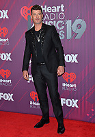 LOS ANGELES, CA. March 14, 2019: Robin Thicke at the 2019 iHeartRadio Music Awards at the Microsoft Theatre.<br /> Picture: Paul Smith/Featureflash