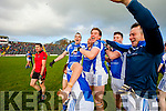 Templenoe players celebrate winning the Junior County Final at Fitzgerald Stadium Killarney on Sunday.