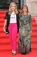 Alix Wilton Regan and Claudia Bluemhuber at the &quot;The Wife&quot; Film4 Summer Screen opening gala &amp; launch party, Somerset House, The Strand, London, England, UK, on Thursday 09 August 2018.<br /> CAP/CAN<br /> &copy;CAN/Capital Pictures