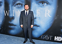 John Bradley at the season seven premiere for &quot;Game of Thrones&quot; at the Walt Disney Concert Hall, Los Angeles, USA 12 July  2017<br /> Picture: Paul Smith/Featureflash/SilverHub 0208 004 5359 sales@silverhubmedia.com