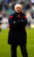 Twickenham, GREAT BRITAIN, Head coach, Brian ASHTON, watches as the team goes through its pre game warm up, before the England vs Scotland, Calcutta Cup Rugby match played at the  RFU Twickenham Stadium on Sat 03.02.2007  [Photo, Peter Spurrier/Intersport-images]....