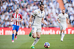Gareth Bale of Real Madrid in action during their La Liga match between Real Madrid and Atletico de Madrid at the Santiago Bernabeu Stadium on 08 April 2017 in Madrid, Spain. Photo by Diego Gonzalez Souto / Power Sport Images