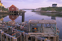 Lobster traps along Peggy's Cove, Peggy's Cove, Nova Scotia, Canada