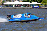 Bay City River Roar,<br /> Bay City, Michigan, USA<br /> 27-29 June, 2015<br /> <br /> ©2015, Sam Chambers<br /> Mike Klepadlo (#35) (Formula 2)