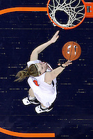 Virginia Cavaliers guard Lexie Gerson (14) shoots the ball during the game against Florida State Jan. 29, 2012 in Charlottesville, Va.  Virginia defeated Florida State 62-52.