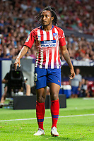 Gelson Martins of Atletico Madrid during the match between Real Madrid v Rayo Vallecano of LaLiga, 2018-2019 season, date 2. Wanda Metropolitano Stadium. Madrid, Spain - 25 August 2018. Mandatory credit: Ana Marcos / PRESSINPHOTO