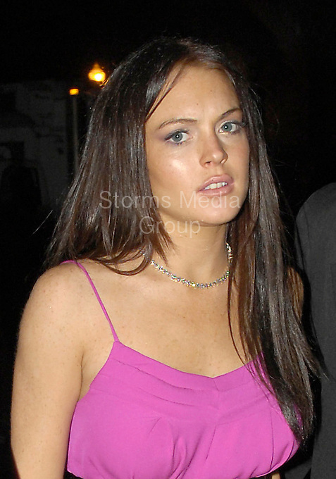 SMG_Lindsay Lohan_Rise and Fall_052210_22.JPG<br /> <br /> Orig Pix taken - TAKEN 2006-2007 in Miami<br /> <br /> MIAMI , FL - MAY 22:  Lindsay Won't Be Arrested, Bail Posted Originally posted May 20th 2010 4:22 PM PDT by TMZ Staff  TMZ has learned Lindsay Lohan will not be arrested, because she has already posted bail and the arrest warrant has been recalled.<br /> <br /> <br /> Earlier today the judge set the bail at $100,000.  We're told Lindsay's people promptly plunked down $10,000 (the standard 10%) to secure the bond and the judge then recalled the warrant -- meaning Lindsay will not be arrested when she returns to the U.S.<br /> <br /> We're told Lindsay and her lawyer, Shawn Chapman Holley, will be in court on Monday at 8:30 AM.  The judge will then set a date for a probation violation hearing.<br /> <br /> Judge Marsha Revel said this morning there was probable cause to believe Lindsay has violated the terms of her probation. (Photo By Storms Media Group)<br /> <br /> People:  Lindsay Lohan<br /> <br /> Must call if interested<br /> Michael Storms<br /> Storms Media Group Inc.<br /> 305-632-3400 - Cell<br /> 305-513-5783 - Fax<br /> MikeStorm@aol.com