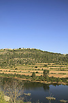 Israel, Jerusalem mountains, Beit Zait water reservoir