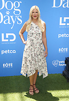 CENTURY CITY, CA - AUGUST 5: Tori Spelling at the Dog Days World Premiere at The Atrium in Century City, California on August 5, 2018. <br /> CAP/MPI/FS<br /> &copy;FS/MPI/Capital Pictures