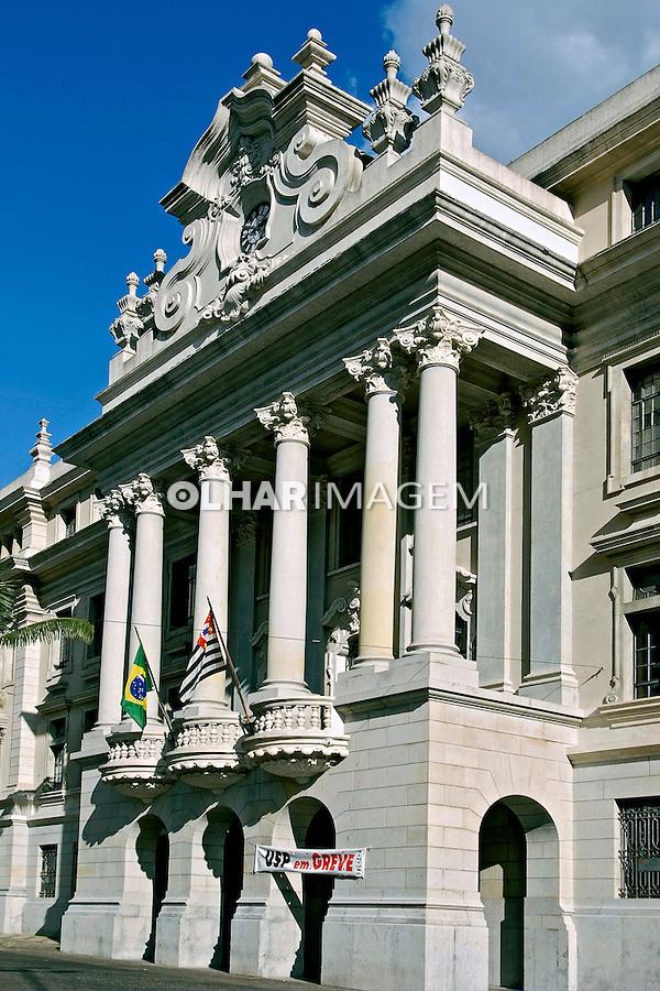Faculdade de Direito. Largo São Francisco. São Paulo. 2006. Foto de Juca Martins.