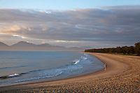 Yorkeys Knob beach at dawn.  Yorkeys Knob, Cairns, Queensland, Australia