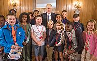 Boris Johnson Education Announcement at Downing Street