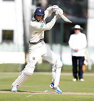 Zak Crawley bats for Kent during the friendly game between Kent CCC and Surrey at the St Lawrence Ground, Canterbury, on Friday Apr 6, 2018