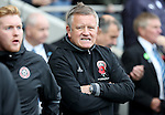 Chris Wilder manager of Sheffield United oduring the English Football League One match at Proact Stadium, Chesterfield. Picture date: November 13th, 2016. Pic Jamie Tyerman/Sportimage