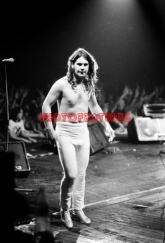 Black Sabbath 1978 Ozzy Osbourne.© Chris Walter