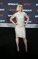 WESTWOOD, CA - DECEMBER 13: Noomi Rapace, at Premiere Of Netflix's 'Bright' at The Regency Village Theatre, In Hollywood, California on December 13, 2017. Credit: Faye Sadou/MediaPunch /NortePhoto.com NORTEPHOTOMEXICO