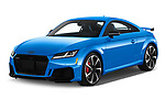 2019 Audi TT RS Base 3 Door Coupe angular front stock photos of front three quarter view
