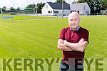 Liam Kennedy,  new Chairman of Listowel Celtic Soccer Club, at Celtic Park on Monday