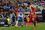 League Santander 2017-2018 - Game: 15.<br /> RCD Espanyol vs Girona FC: 0-1.<br /> Mojica vs Hernan Perez.