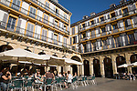 Plaza de la Constitucion, Constitution Square, San Sebastian, Basque Country, Spain