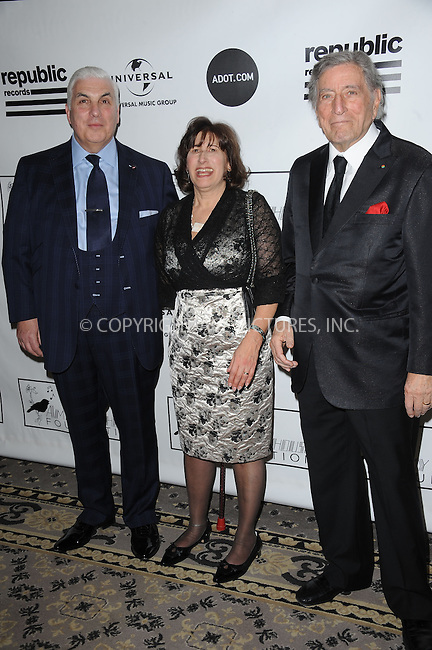 WWW.ACEPIXS.COM . . . . . .March 21, 2013...New York City....Mitch Winehouse, Janis Winehouse Collins, and Tony Bennett attend the 2013 Amy Winehouse Foundation Inspiration Awards and Gala at The Waldorf  Astoria on March 21, 2013 in New York City ....Please byline: KRISTIN CALLAHAN - ACEPIXS.COM.. . . . . . ..Ace Pictures, Inc: ..tel: (212) 243 8787 or (646) 769 0430..e-mail: info@acepixs.com..web: http://www.acepixs.com .