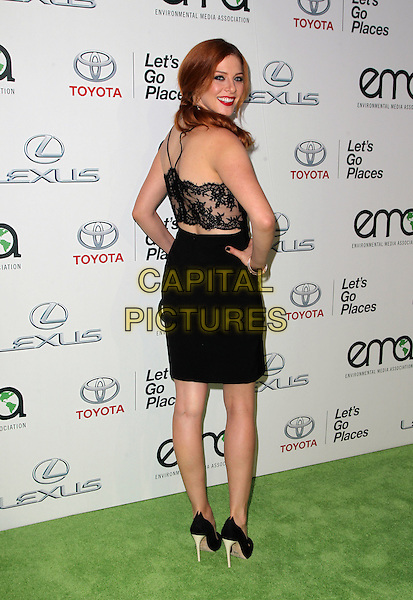 18 October 2014 - Burbank, California - Rachelle Lefevre. 24th Annual Environmental Media Awards Presented By Toyota And Lexus Held at The Warner Brothers Studios.   <br /> CAP/ADM/FS<br /> &copy;Faye Sadou/AdMedia/Capital Pictures