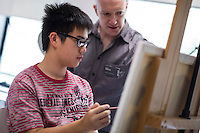 SCAD Open Day held at the Hong Kong campus on Saturday 2nd November 2013. Photo by Andy Jones / studioEAST